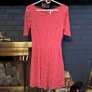 Size 10 Peach Lauren Conrad dress